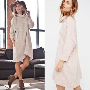 Free People Terri Cocoon Pullover Dress FP Beach